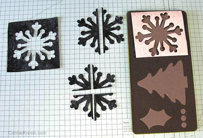 Alpine Ice AccuQuilt snowflakes