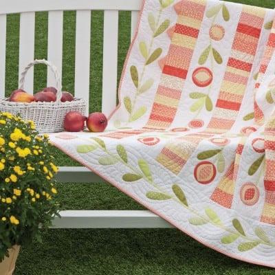 Pomegranate Quilt Free Pattern
