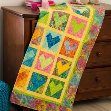 Free quilt pattern from AccuQuilt